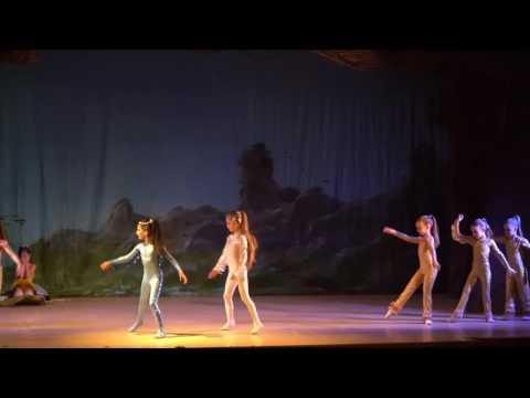 """Детский балет """"Дюймовочка"""". Рыбки"""