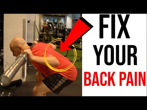 3 WAYS TO FIX LOWER BACK PAIN FROM SQUATS