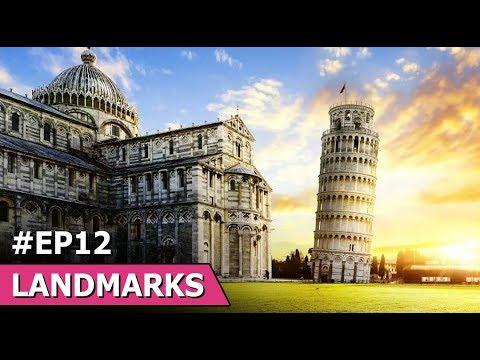 The Leaning Tower Of Pisa | Sydney Opera House | Amazing  Stephen Wiltshire | World Famous Landmarks