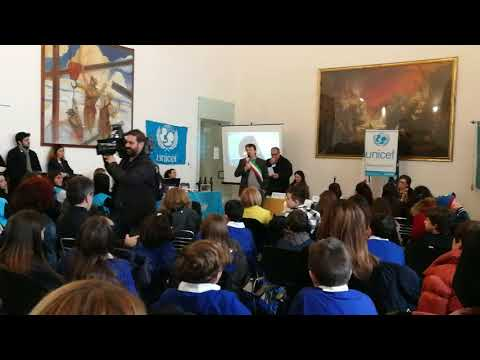 Acquaviva delle Fonti, Conferimento cittadinanza onoraria a 50 bambini di origine straniera