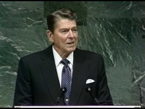 President Reagan's Address to the United Nations in New York City, New York, September 21, 1987