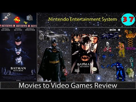 Movies to Video Games Review -- Batman Returns (NES)