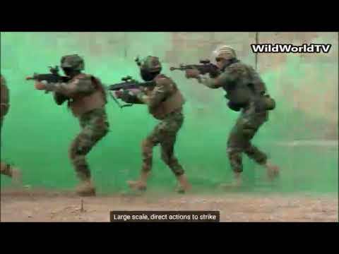 Iraqi Army Rangers Certifcation Exercise