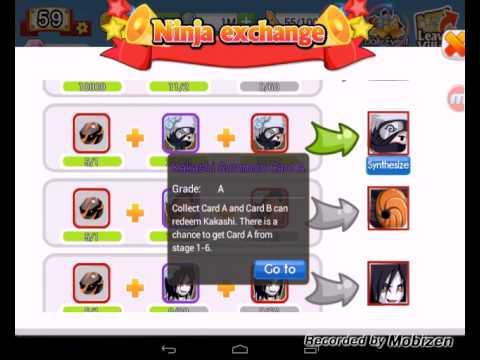 Ninja Heroes Get S Ninja Kakashi In Exchange Youtube