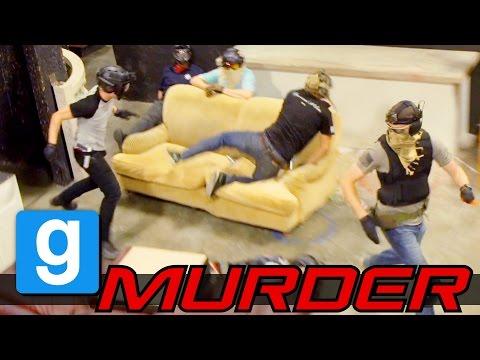 Airsoft Gmod Murder - Killer Instinct