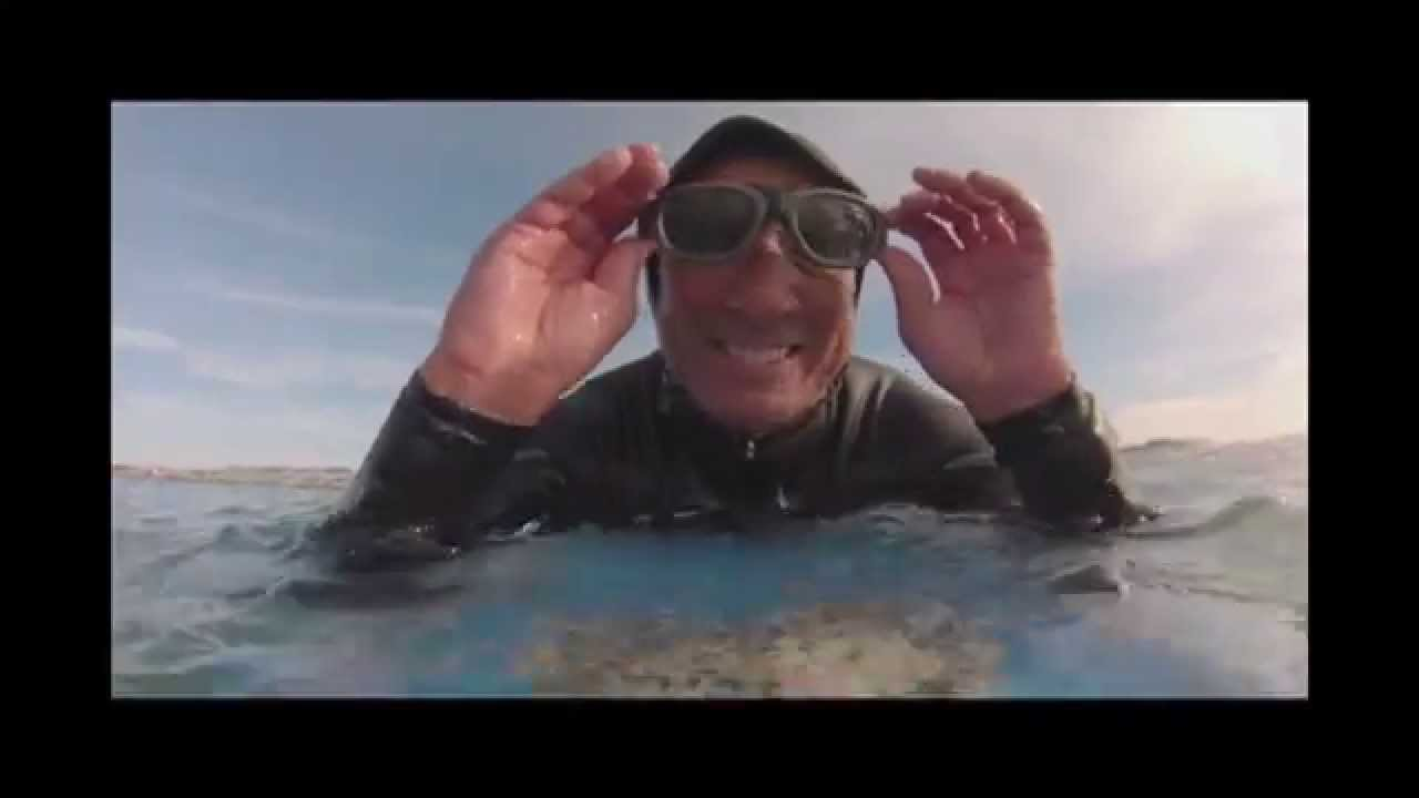 b6ddaa795d0 Surfing with Rec Specs glasses. - YouTube