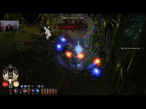 WarHammer Chaosbane Chaos 7 Tomb King's Tank Elontir BOSS RUSH attempt |