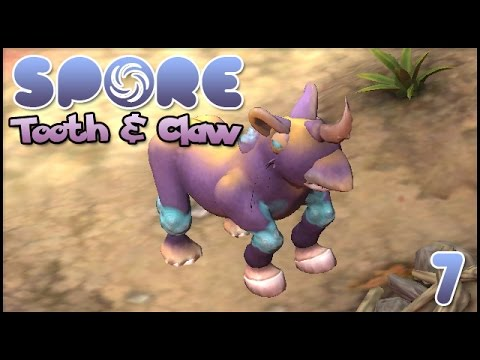 Increasingly & Questionably Alien || Spore! Tooth & Claw - Episode #7