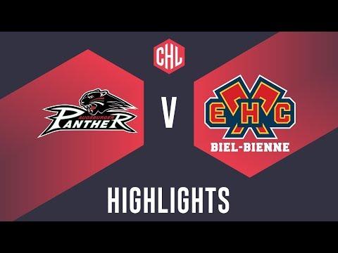 Highlights: Augsburger Panther Vs. EHC Biel-Bienne