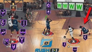 I Took My DEMIGOD BUILD To The *NEW* 1v1 RUSH EVENT AND DESTROYED MY OPPONENTS WITH EASE! NBA 2K20!