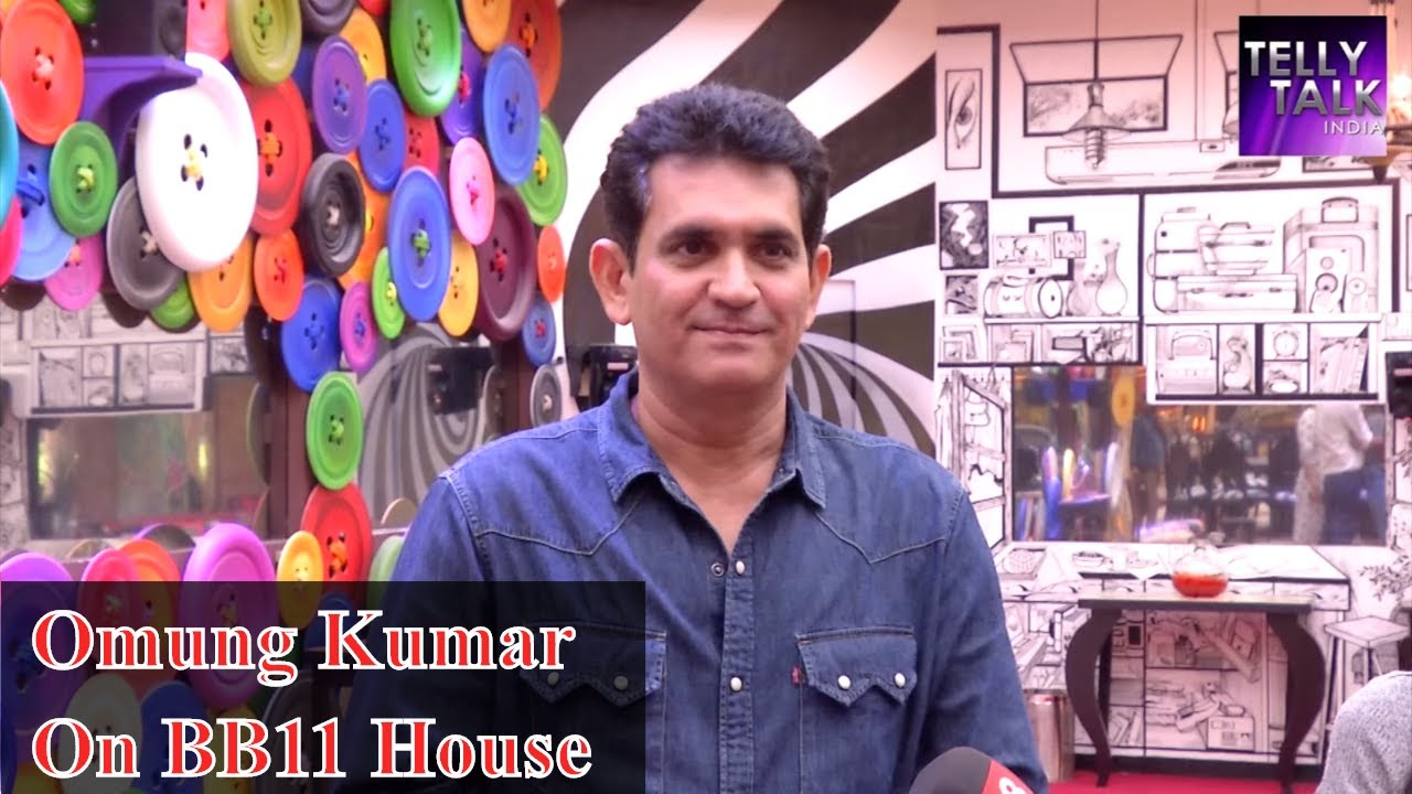 Omung Kumar Talks About The Bigg Boss House The Design ब ग ब स Youtube