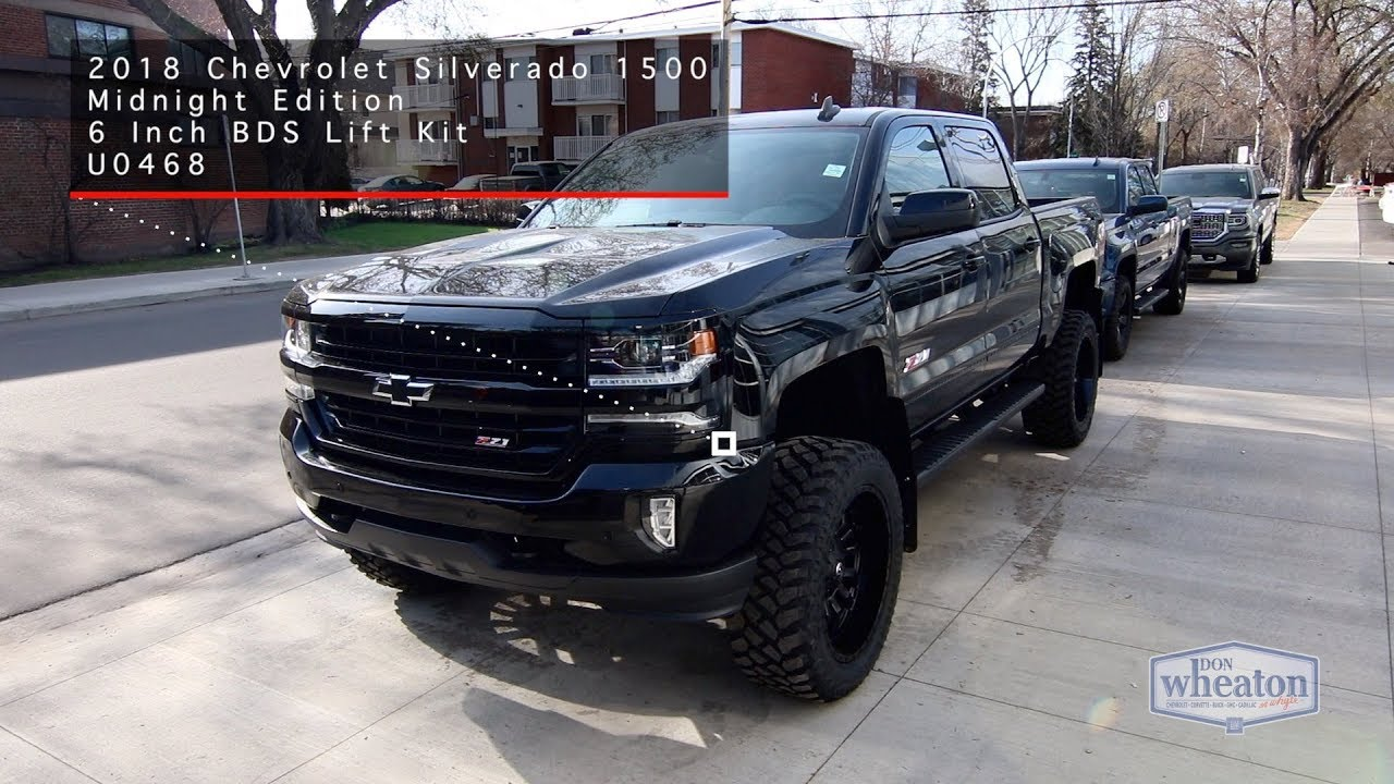 2018 Chevrolet Silverado 1500 Midnight Edition ...