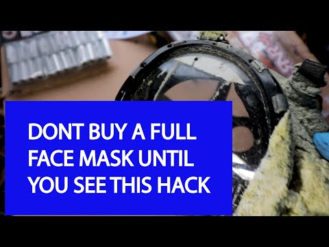 DONT BUY A RESPIRATOR or FULL FACE MASK UNTIL YOU SEE THIS