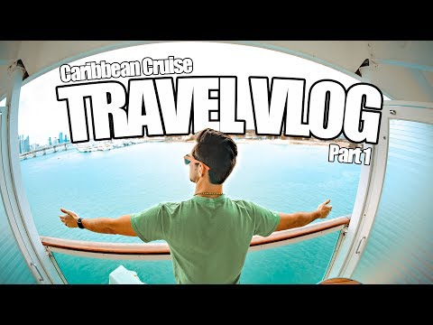 ABC Islands Vacation - TRAVEL VLOG 2017 - Caribbean Cruise Part 1