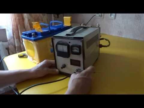 Зарядное-пусковое устройство. Тиристорная схема