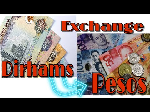 Dirhams To Pesos Conversion