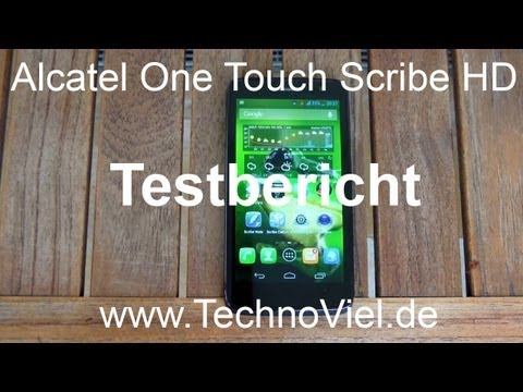 Alcatel One Touch Scribe HD - Testbericht und Vergleich mit Mobistel Cynus T5 - www.technoviel.de