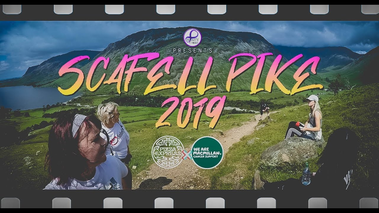 Scafell Pike 2019 Pizza Express Kendal X Macmillan Cancer Support