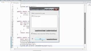 Tutorial 13 - Programmering 1D Arrays in Java