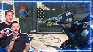 Spec Ops REACT to Splinter Cell: Blacklist   Experts React