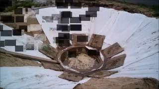 видео Пруд с водопадом своими руками на дачном участке: технология строительства и фото