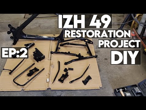 IZH 49 made in 1956  Restoration project. Episode 2