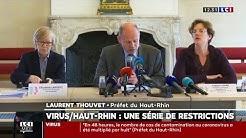 Coronavirus : 'stade 2 renforcé' dans le Haut-Rhin, le préfet annonce des mesures