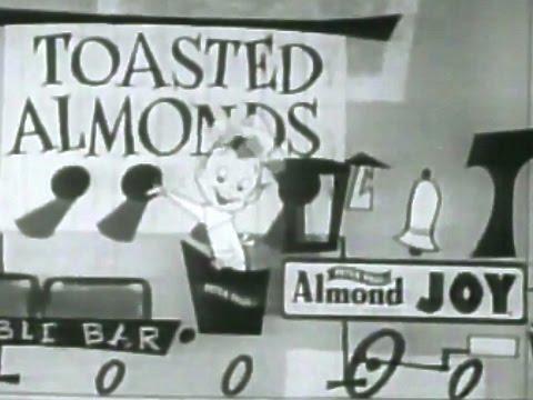 Peter Paul Almond Joy 1960's  TV Commercial HD