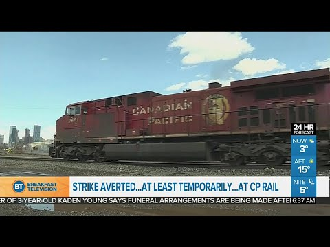 Strike averted, for now, at CP Rail
