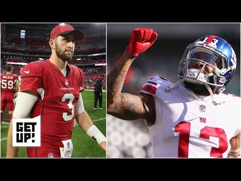 Could Cardinals trade Josh Rosen to Giants for Odell Beckham, then draft Kyler Murray? | Get Up!