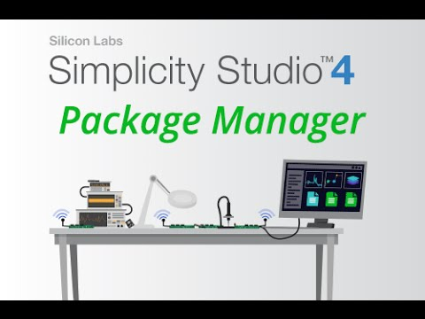 Package Manager in Simplicity Studio 4 from Silicon Labs