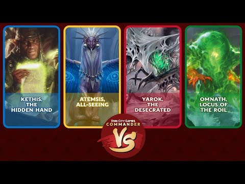 Commander VS S16E3: Kethis VS Atemsis VS Yarok VS Omnath [ED