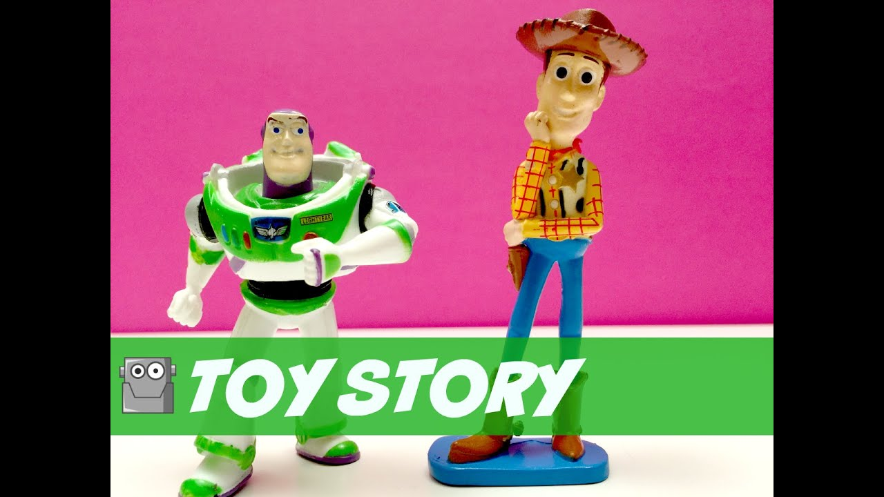 toys story figurines buzz lightyear woody t rez youtube. Black Bedroom Furniture Sets. Home Design Ideas