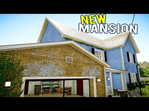 GIANT MANSION WITH HORRIFYING THINGS INSIDE GETS FLIPPED? New Update! - House Flipper Beta Gameplay
