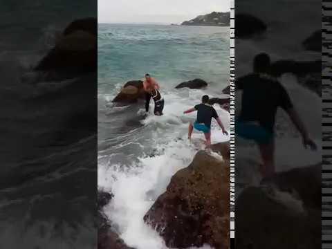 Rescate de inmigrantes en Cádiz