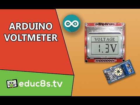 Arduino Project: DIY Voltmeter using a simple voltage sensor and Arduino Uno and a Nokia 5110 LCD.
