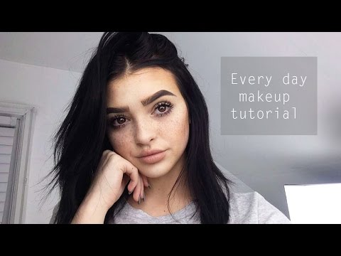 Thumbnail: Everyday makeup tutorial! | updated 2016