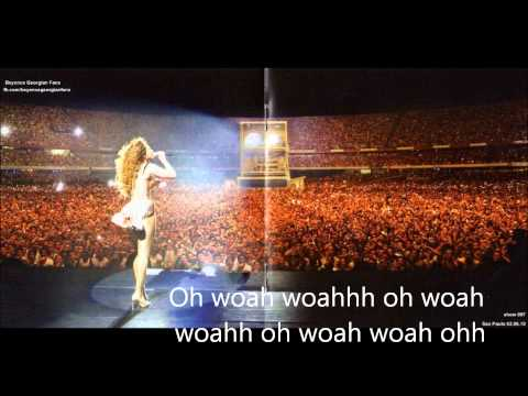 Beyonce Radio Lyrics video
