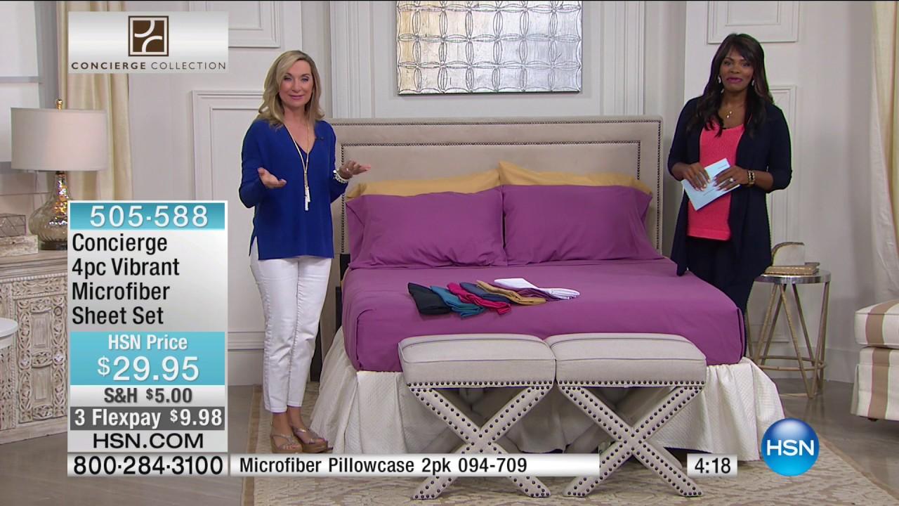 HSN | Concierge Collection Bedding 05.08.2017 - 06 AM