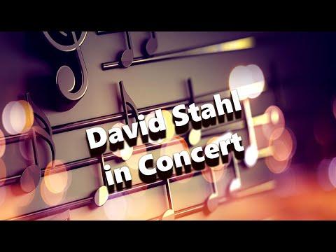 David Stahl In Concert (10-27-19)