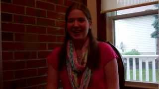 "Cosmetic Dentist Clarksville and Columbia Maryland ""Porcelain Veneers"" - Erin's Veneer Testimony Thumbnail"