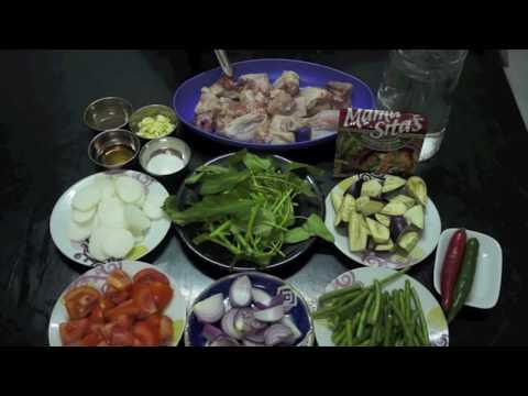 Sinigang na Manok Recipe - Pinoy Filipino Chicken