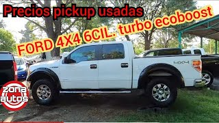 2 Hermosas FORD 4X4 F150 TURBO tianguis de autos usados trucks for sale
