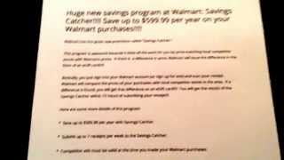 Huge new way to save money at Walmart with Savings Catcher!!!!!