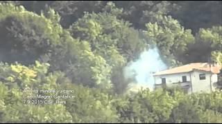 Attività minore vulcano Carlo Magno Cantalice 7 9 2015 CSF Rieti