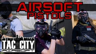 Airsoft Pistol Battles - TAC CITY