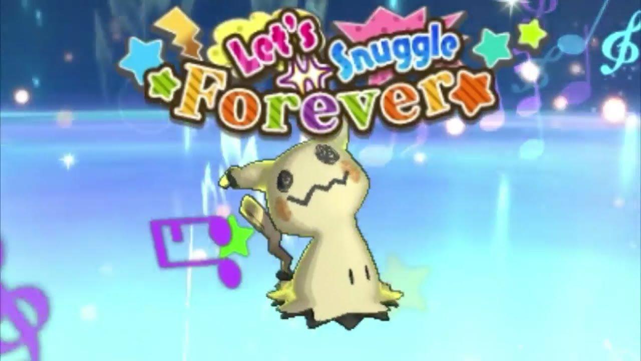 lets snuggle forever