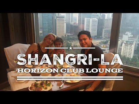 Shangri-La Horizon Club Lounge Tour Overview Makati by HourPhilippines.com