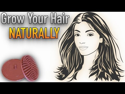 Ways to Grow Back Hair Naturally with Scalp Massager | Morrocco Method