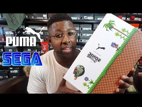 PUMA X SEGA COLLAB SONIC RS 0 REVIEW!!! *MY 1st PUMA*